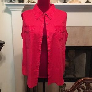 Arizona Jean Company Tops - Arizona Top XL Red